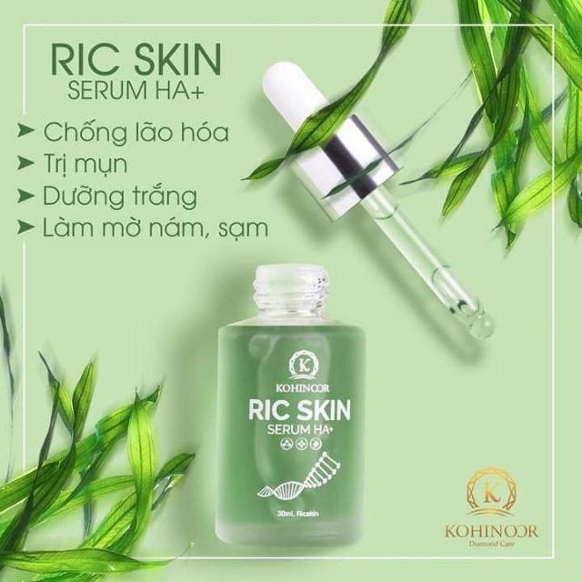 Công dụng Ric Skin Serum Ha+