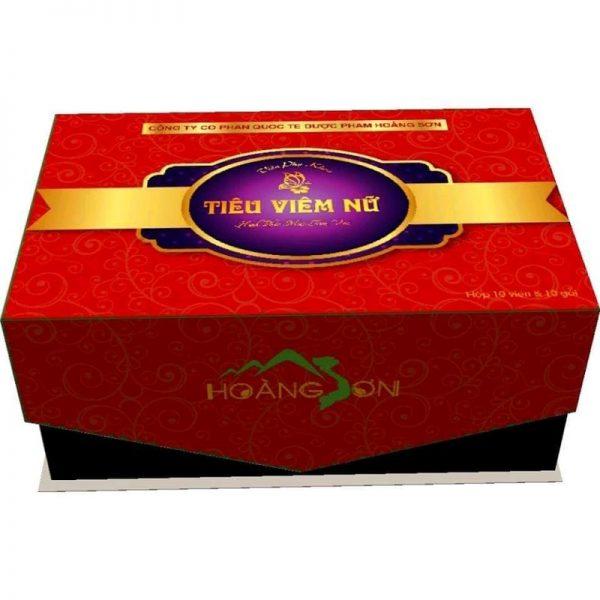Viên đặt phụ khoa Tiêu Viêm Nữlà sản phẩm của Công ty Cổ phần Quốc tế Dược phẩm Hoàng Sơn